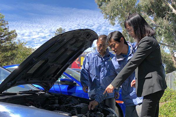 舊金山灣區生物學家:再捐愛車給新唐人